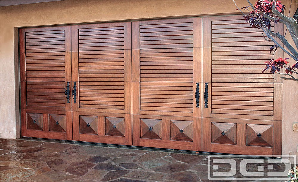 Custom Made Mediterranean Garage Door Designs