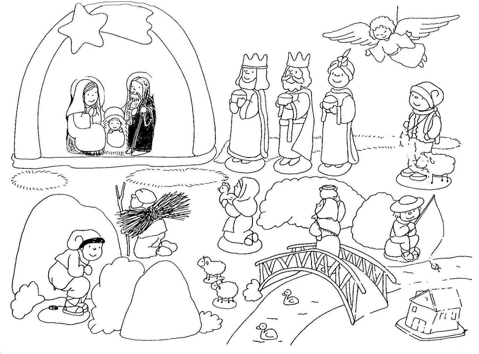 Fantástico Páginas Para Colorear Para Imprimir De Navidad Para ...