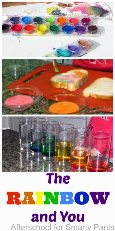 Rainbow theme activities for preschool