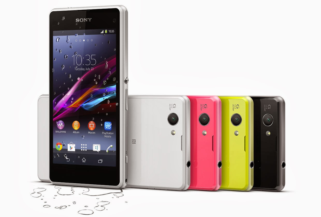 Sony, Sony Xperia Z1 Compact, Xperia Z1 Compact