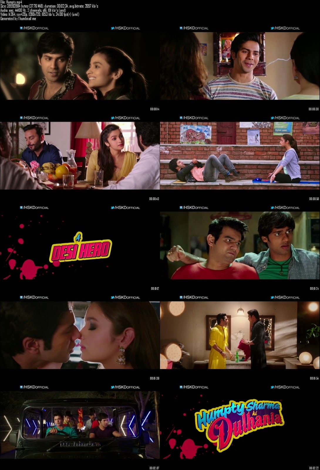 Mediafire Resumable Download Link For Teaser Promo Of Humpty Sharma Ki Dulhania (2014)