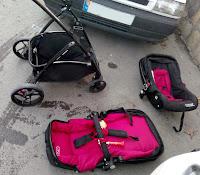 Puset, anakucağı, bebek arabası