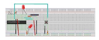LPC1114 protoboard