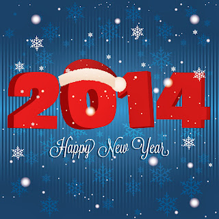 New_Year_wallpapers_Happy_New_Year_2014_Santa_Claus_hat_snowfall