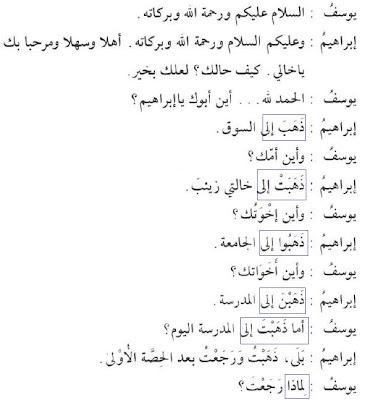 Belajar Bahasa Arab Untuk Pemula Pelajaran 4 Fiil Madhi Dan Dhammir