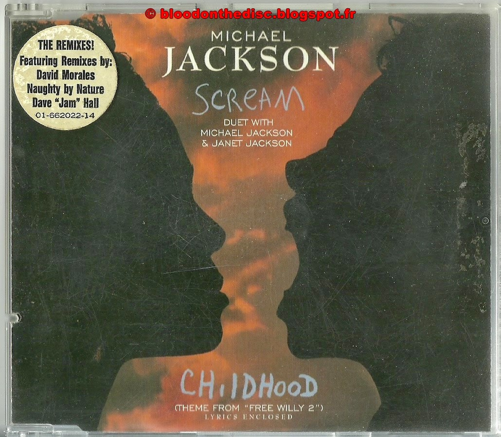 Scream Maxi CD Single Pochette