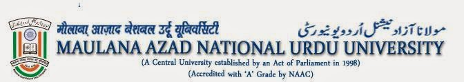 Polytechnic May 2014 Results Maulana Azad National Urdu University