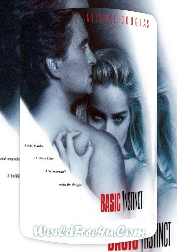 Poster Of Basic Instinct (1992) In Hindi English Dual Audio 300MB Compressed Small Size Pc Movie Free Download Only At worldfree4u.com