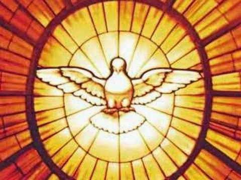 Holy Spirit as a Dove - Artist unknown