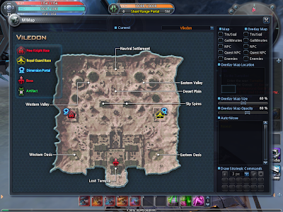 Scarlet Blade - Viledon Map