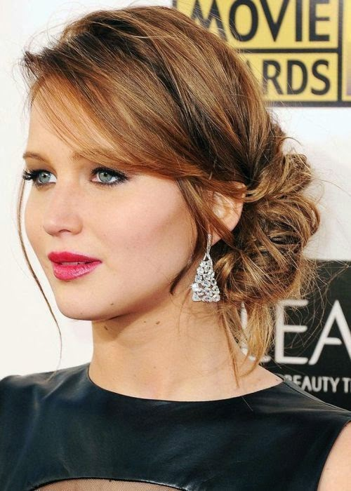 Girls Womens Hair Do Ideas 2015 2016 For Parties New Year