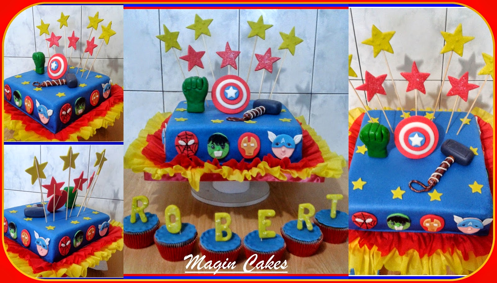 Magin Cakes Torta Avengers Watermelon Wallpaper Rainbow Find Free HD for Desktop [freshlhys.tk]