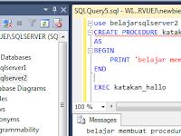 Sql Server Store Procedure