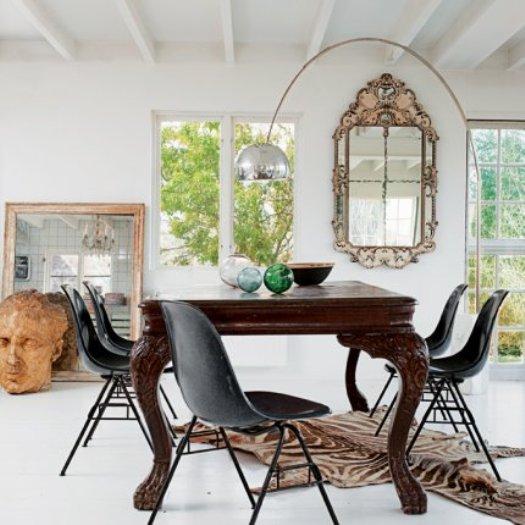 In contrast verdigris vie - Chaise salle a manger noir ...