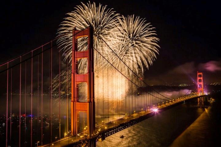 A nous la californie independence day san francisco - Porte sur le feu et jete dedans ...