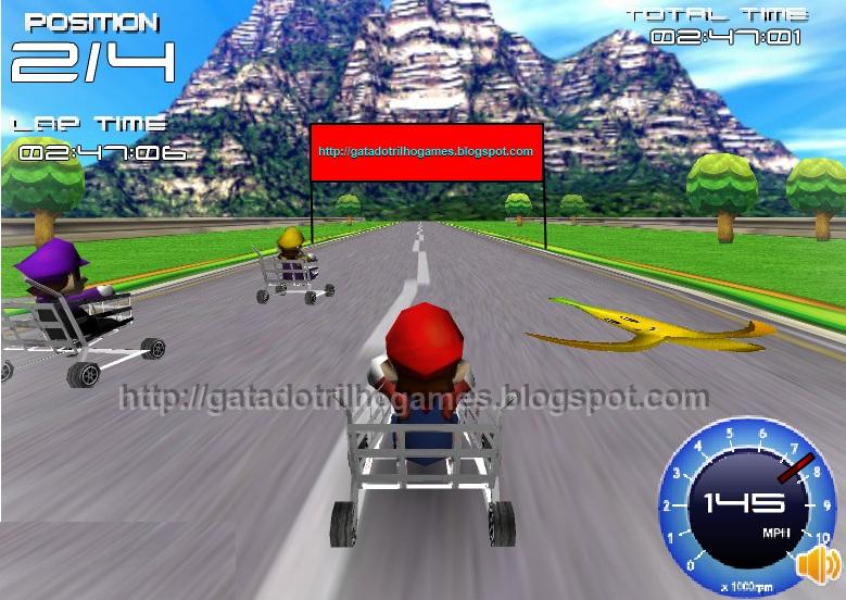 mario kart 3d online