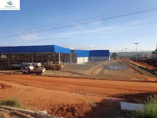 Construção do Assaí Juazeiro do Norte.