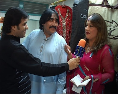 Pashto actor Ismail Shahid with Khurshid Jahan New Photos