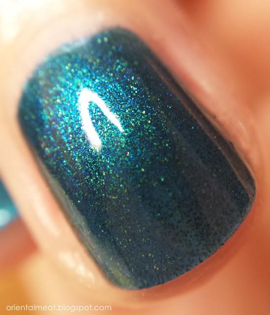 nail polish bluey