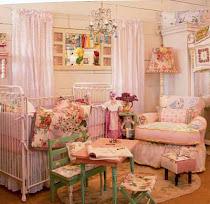 Vintage Inspired Nursery