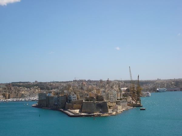 Malta Grand Harbour VAletta