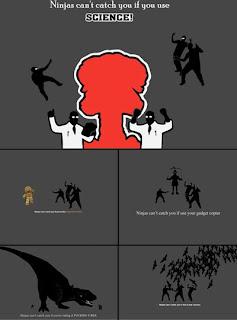 Ниндзя комикс в обоях для рабочего стола