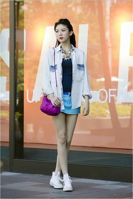 Vogue Taiwan, White Converse