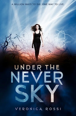 Book Review: Under the Never Sky (Book 1), By Veronica Rossi Cover art USA