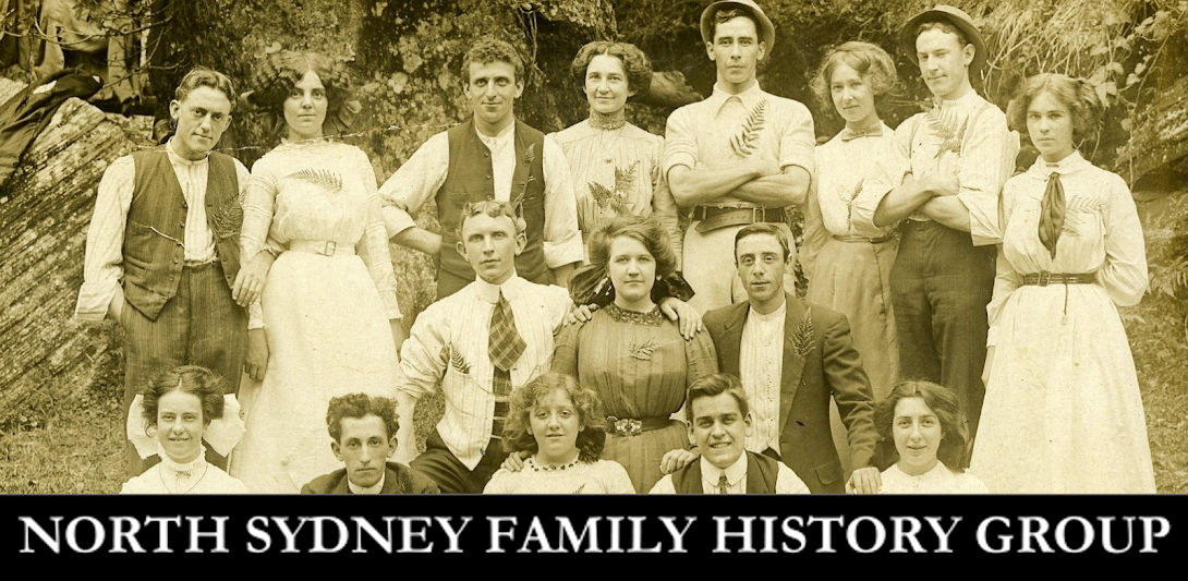 NORTH SYDNEY FAMILY HISTORY GROUP