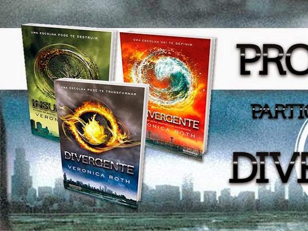 Promo especial: Sorteio da Trilogia Divergente!