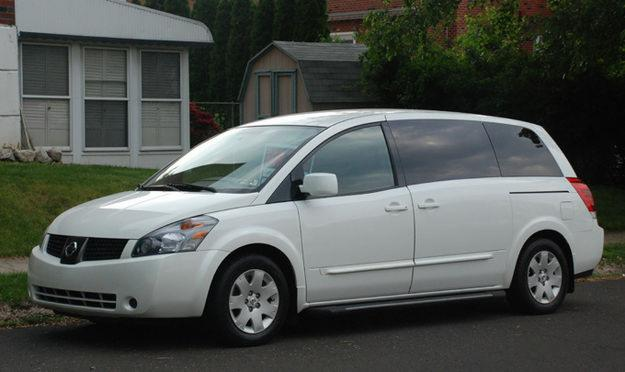 2004 Nissan quest video #7