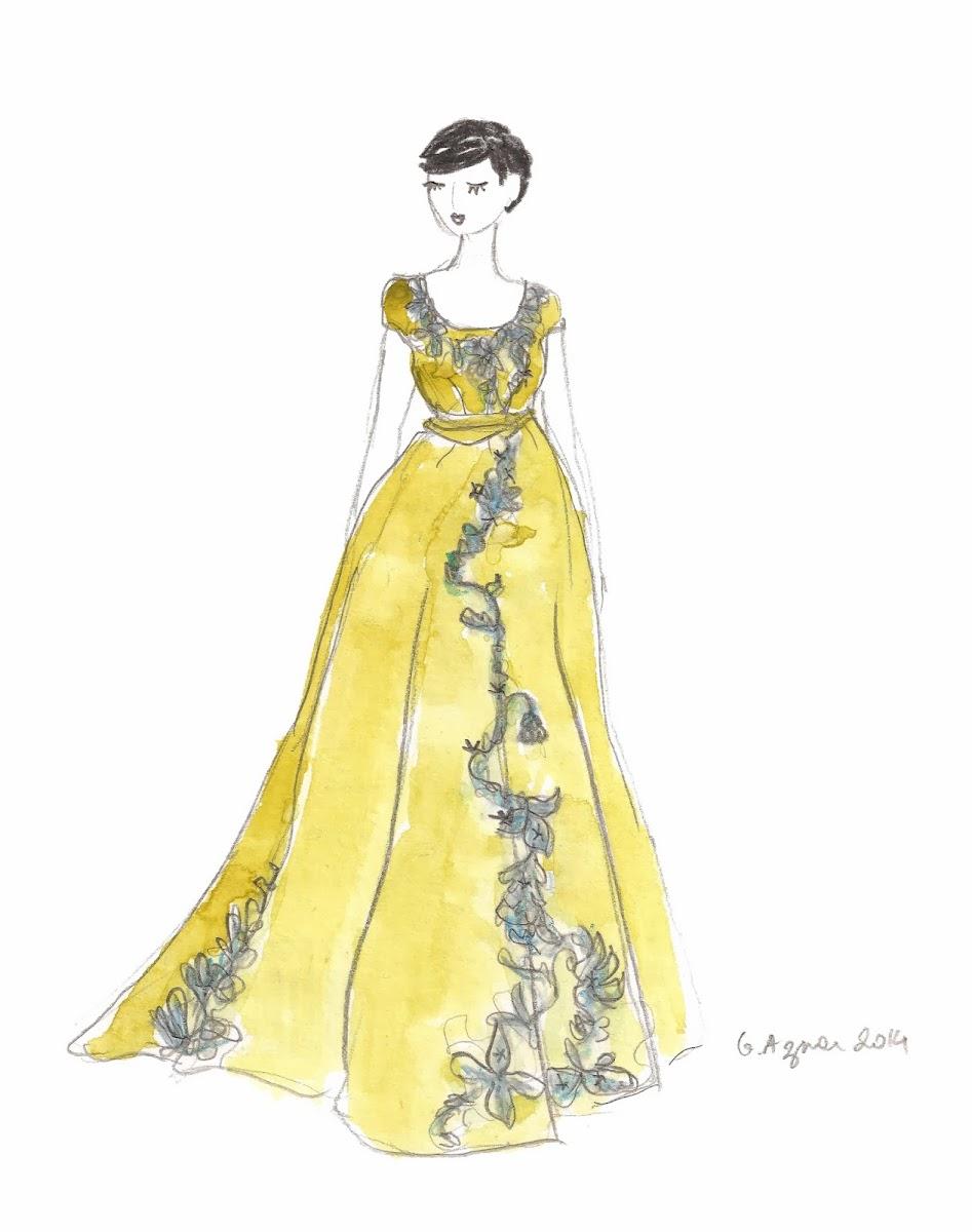le blog de gabrielle aznar l 39 exposition roman d 39 une garde robe carnet de croquis. Black Bedroom Furniture Sets. Home Design Ideas