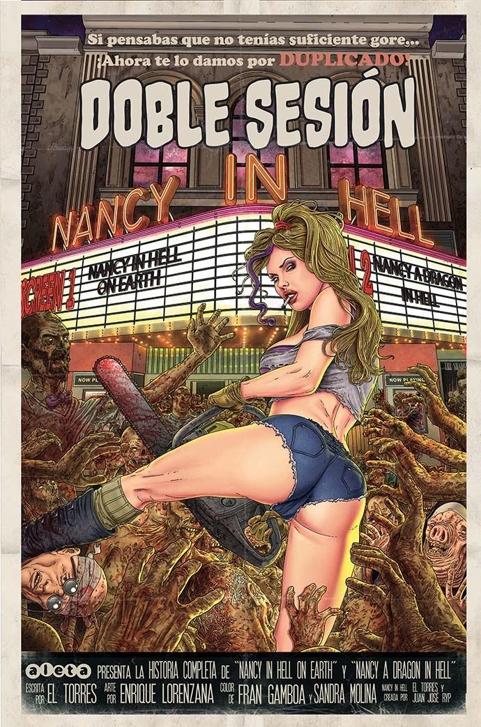 Nancy in Hell Aleta Ediciones