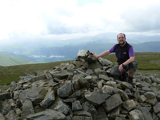 On Seat Sandal, this would be my last Wainwright for almost two years