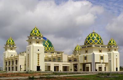masjid arrahman di islmic center sukadana