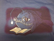 Tshirt from Jen Y. The happy angler fish!