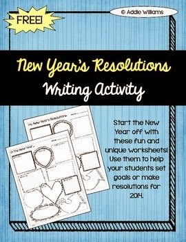 http://www.teacherspayteachers.com/Product/New-Years-Resolutions-Goals-FREE-1030611