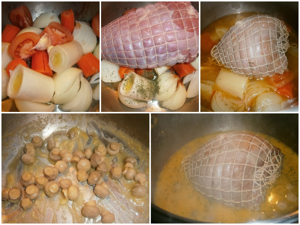 Cocinar Redondo | Receta De Receta De Redondo De Ternera Al Horno En Salsa De Setas