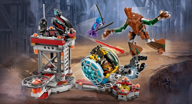Lego Marvel Knowhere Escape Mission 76020