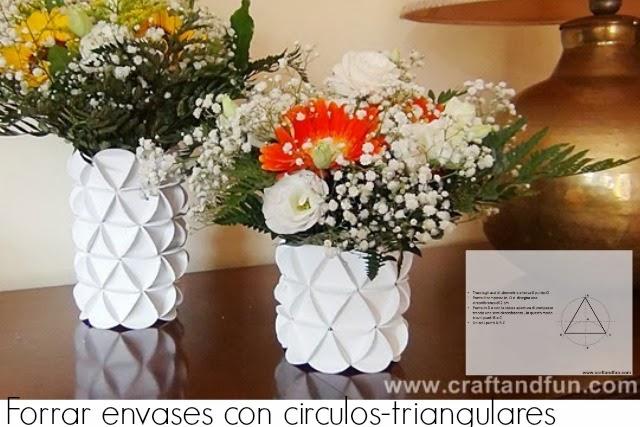 Широкие вазы для цветов своими руками 864