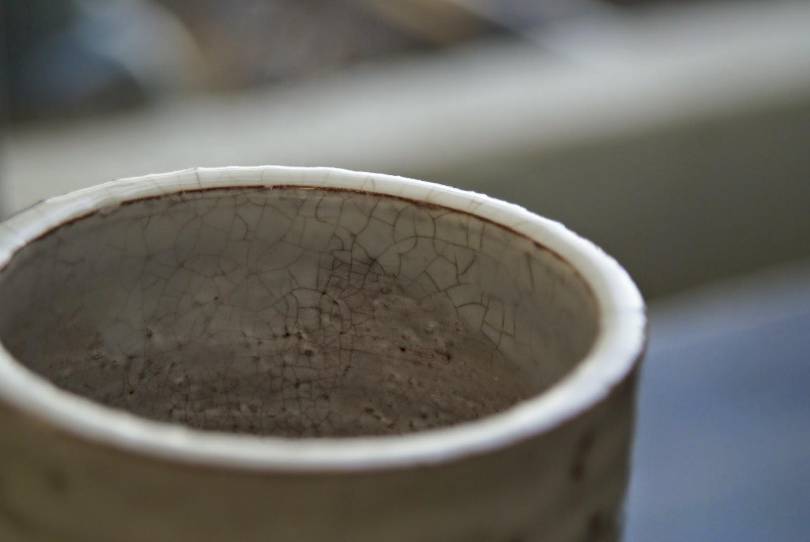 the japanese pottery of Hagi Yaki