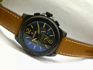 Jam Tangan Expedition E 6400 Black Brown