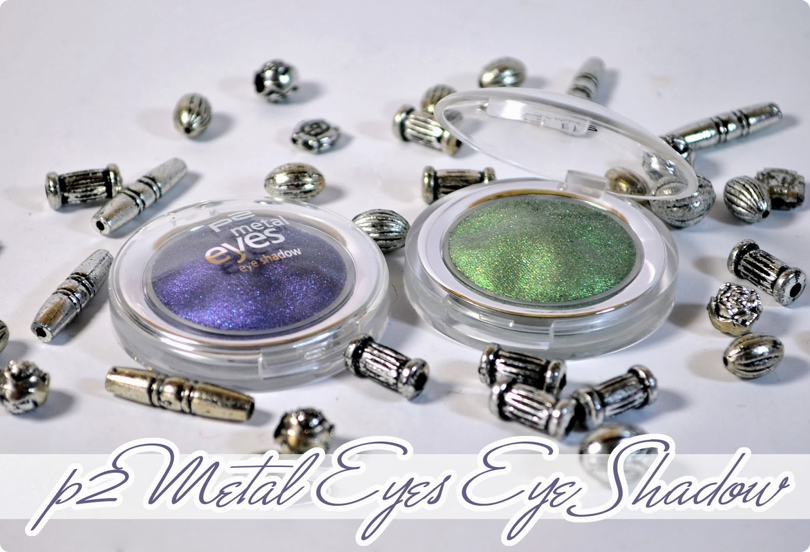 p2 Auslistungen 2014 - Metal Eyes Eye Shadow - Review + Swatches