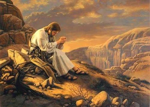 Resultado de imagen de cristo en el desierto