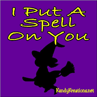 In honor of the Hocus Pocus movie season, decorate your Halloween scrapbook pages with this free I Put A Spell On You Journal card printable.  Cards are available in vertical and horizontal printables.