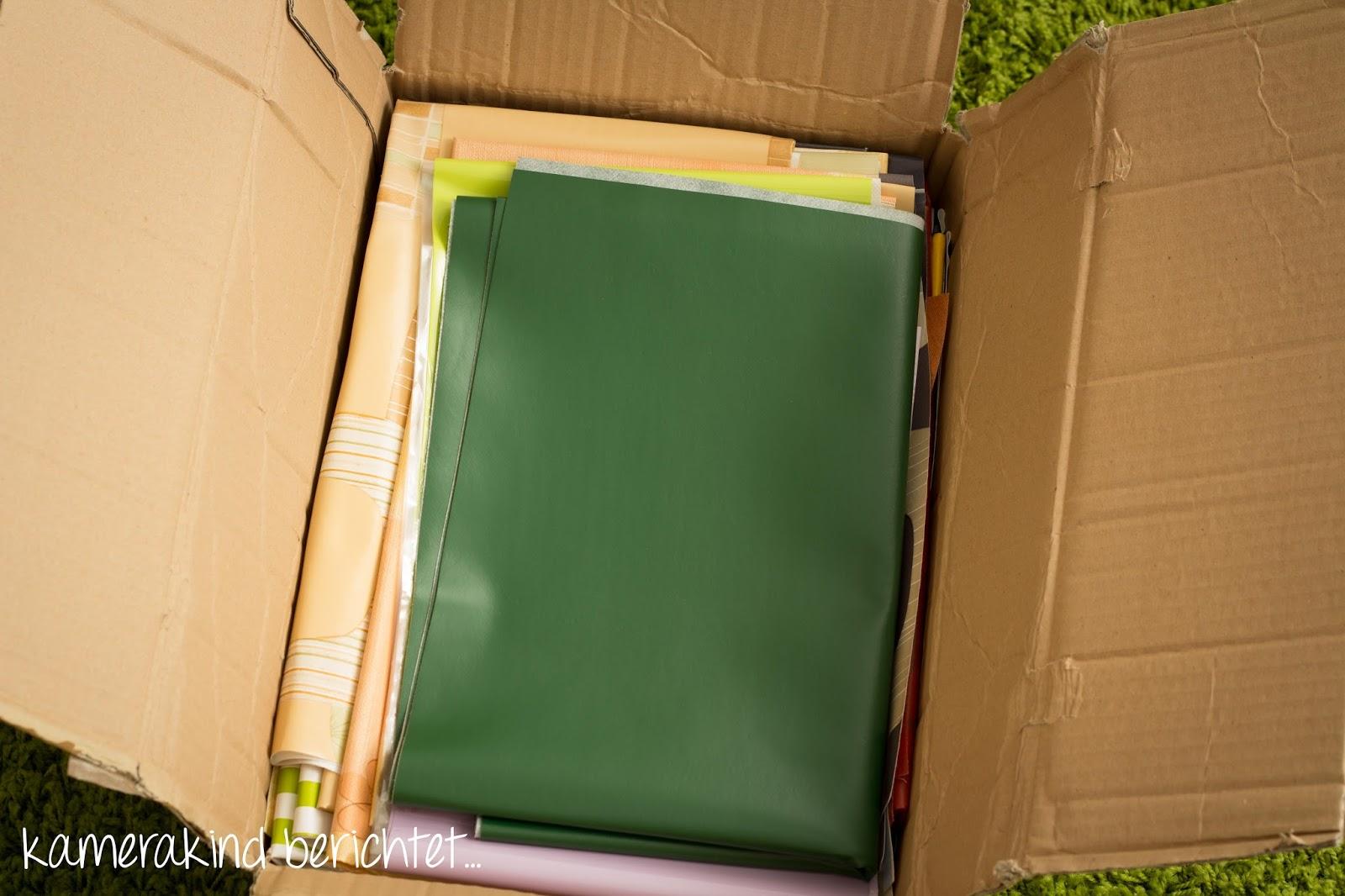 Unboxing Wachstuch-Bastelkiste