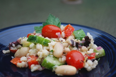 Caitlin's Cooking and More: Mediterranean Grain Salad