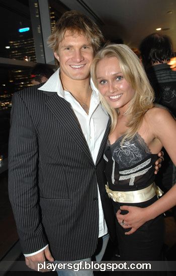 Shane Watson and his wife Lee Furlong (Photo) - playersGF.com