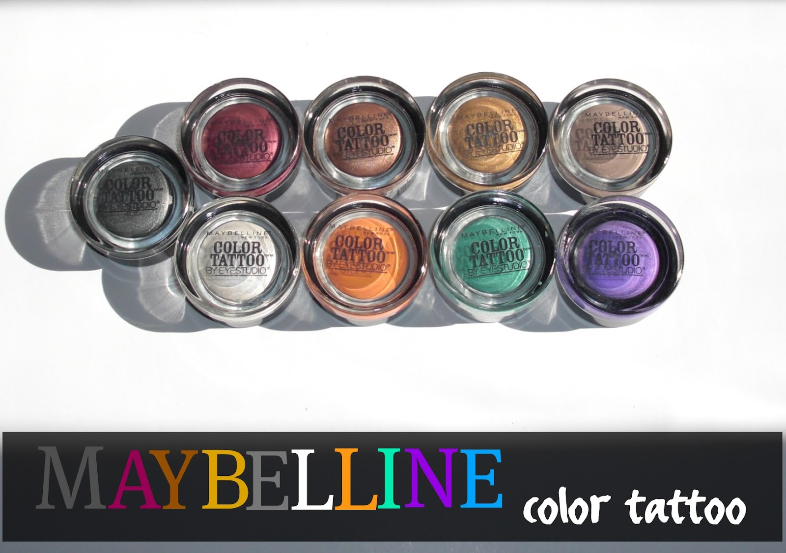 beautyismaximus: Maybelline color tattoo by eyestudio: Tough as ...