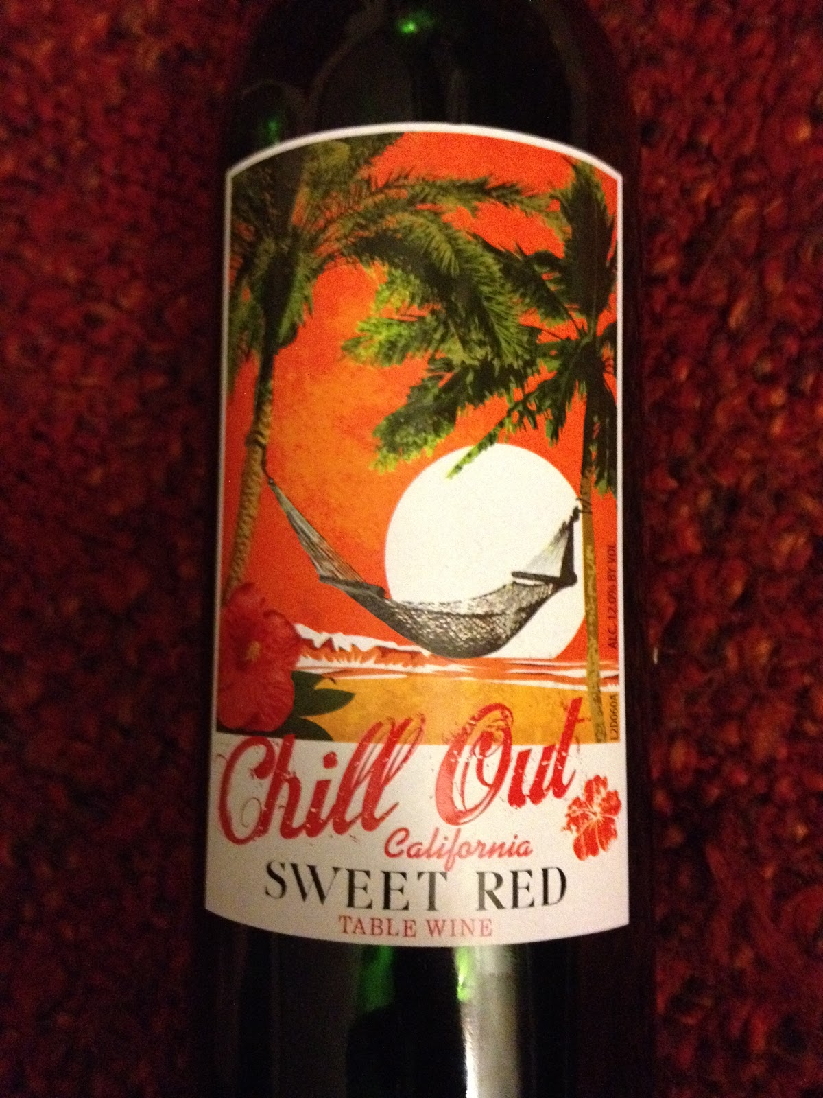 The Five Dollar Wine Expert Chill Out Sweet Red Table Wine